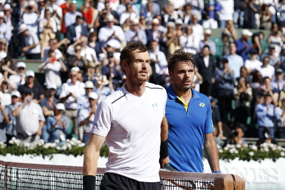 Murray Wawrinka Roland-Garros 2017
