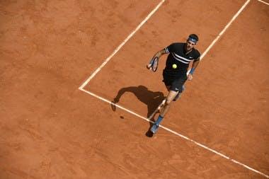 Roland-Garros 2018, 1/4 de finale, Juan Martin del Potro