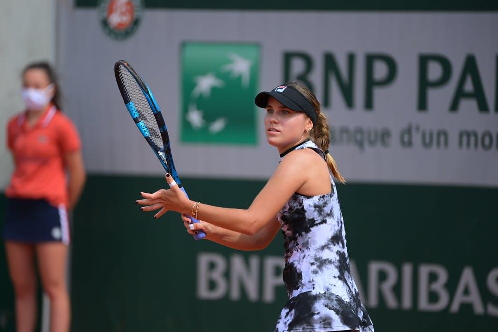 Sofia Kenin, Roland Garros 2021, second round
