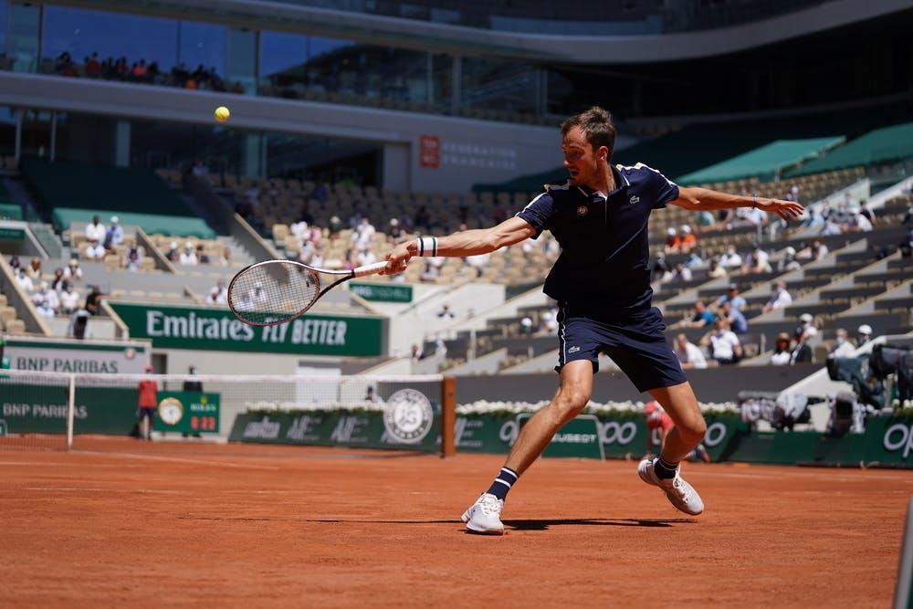 Daniil Medvedev, Roland Garros 2021, first round