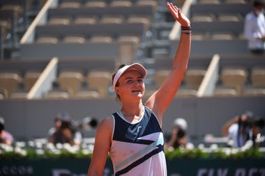 Barbora Krejcikova, Roland Garros 2021, quarter-finals