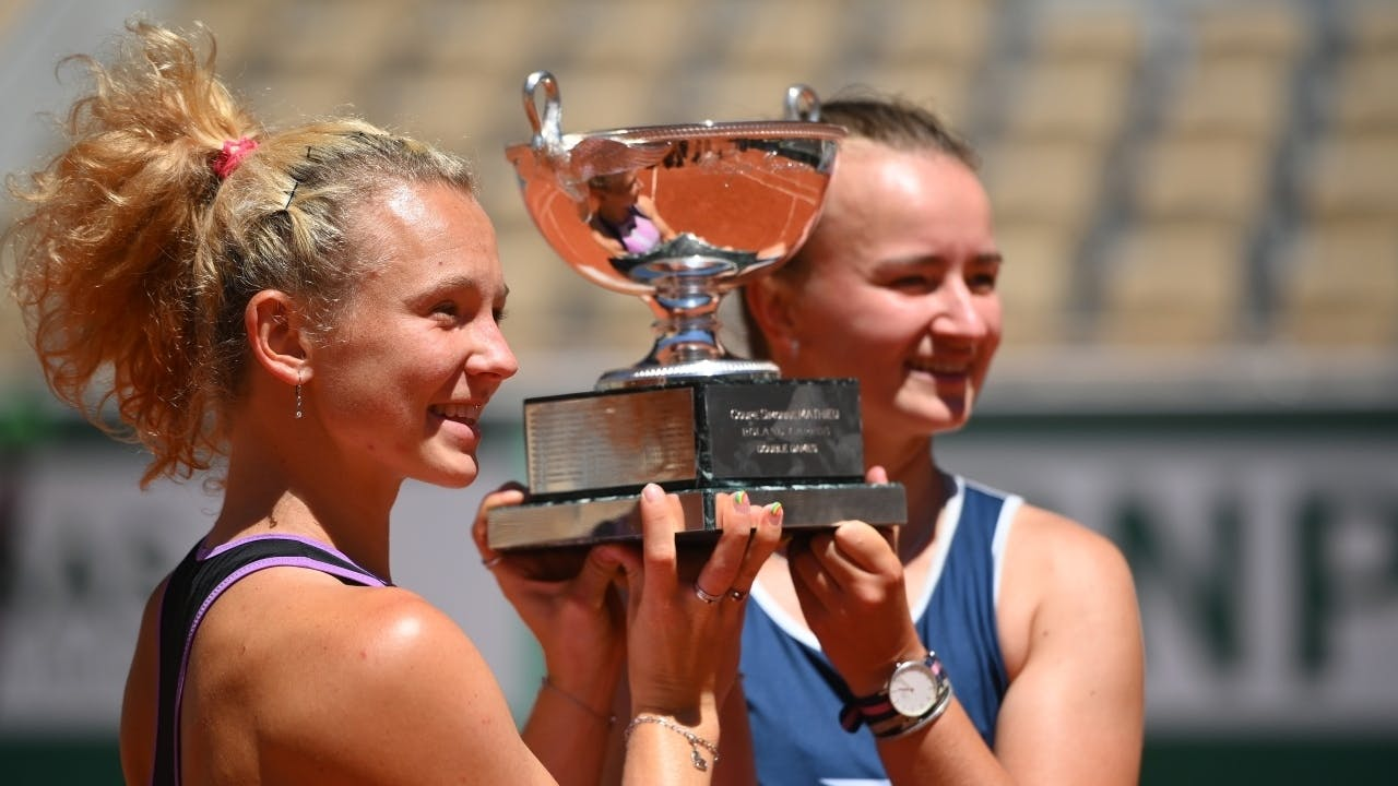 Katerina Siniakova, Barbora Krejcikova, Roland-Garros 2021, women's doubles final