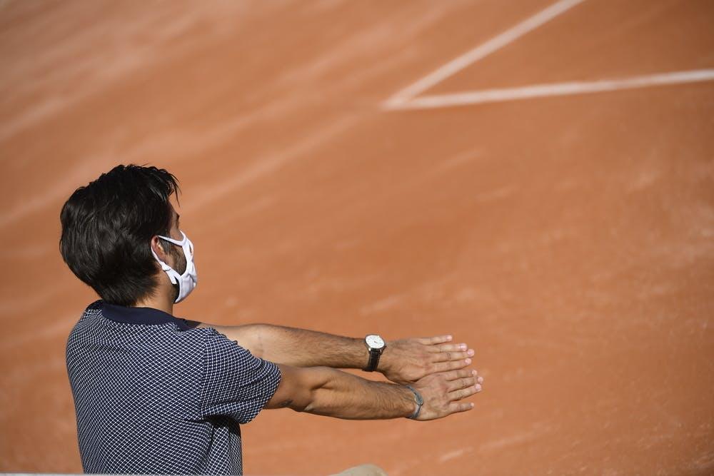 Juge de ligne, masque, Roland-Garros 2020