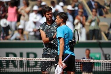 Thiem Khachanov Roland Garros 2019
