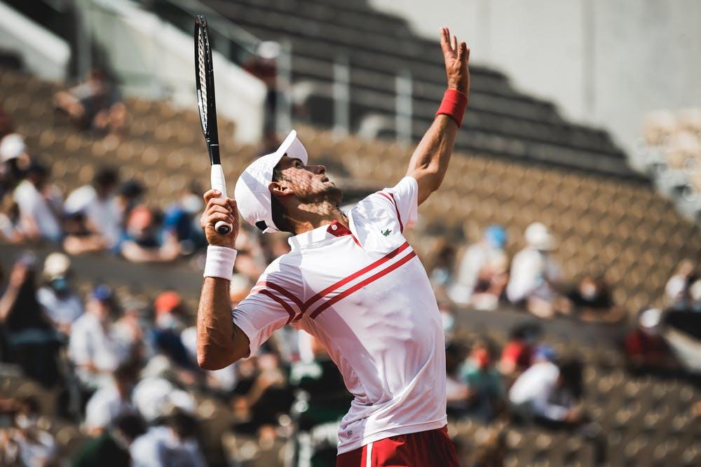 Novak Djokovic, Roland-Garros 2021 second round