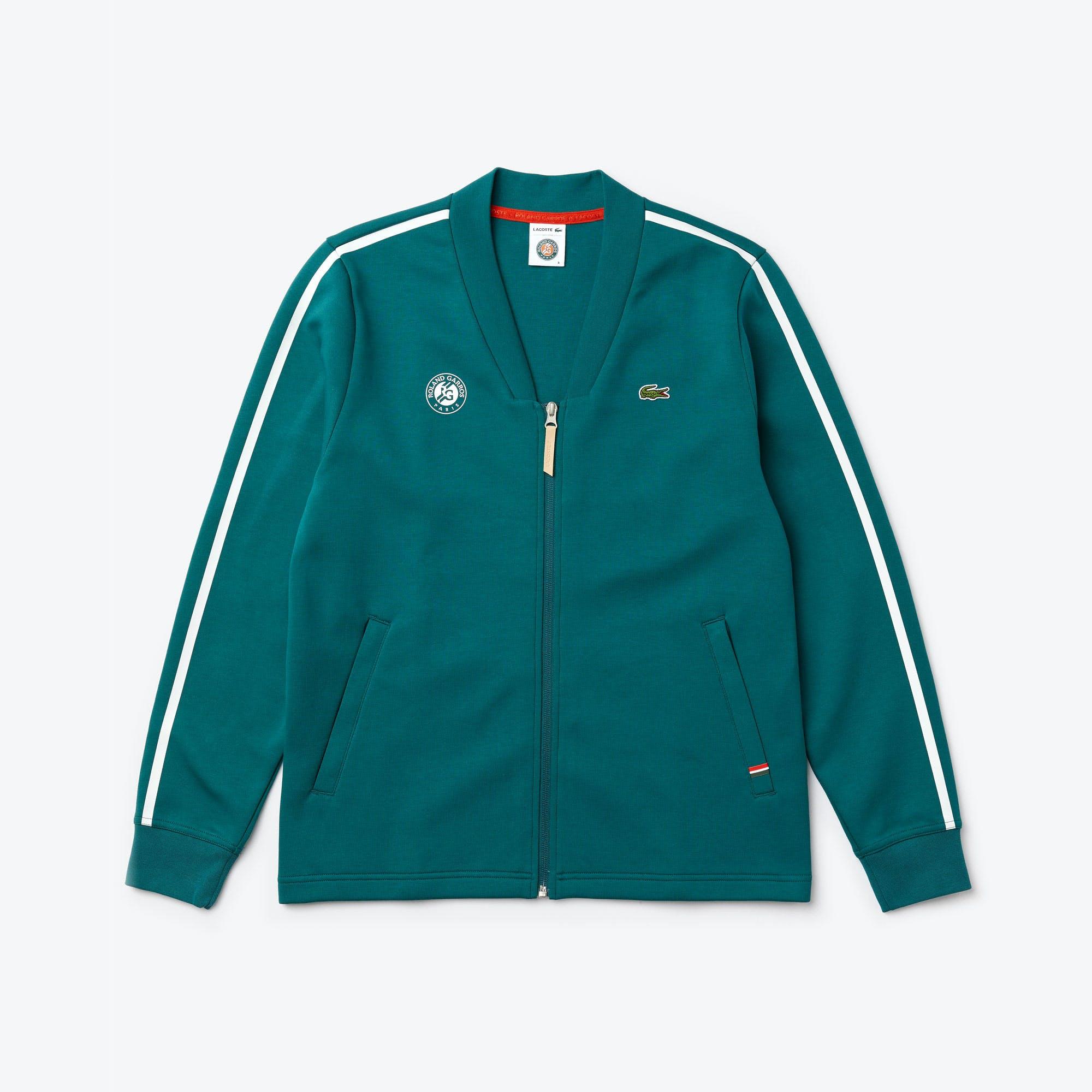 Sweatshirt zippé Lacoste, Roland-Garros, Cardigan