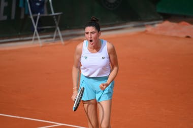 Elsa Jacquemot, Roland Garros 2020, quarter-finals