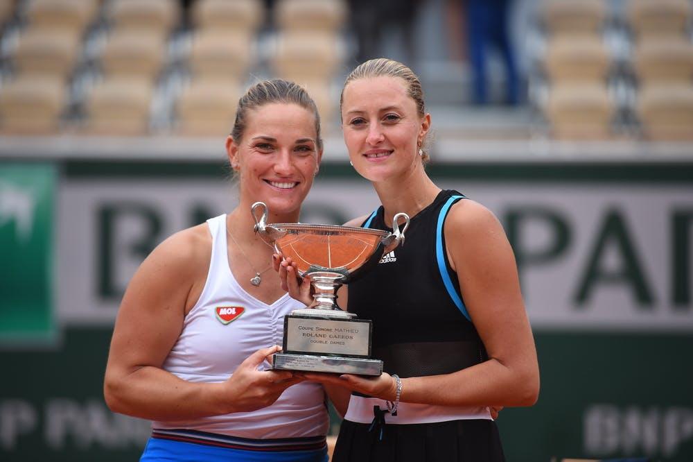 Timea Babos Kristina Mladenovic Double dames Roland-Garros 2019