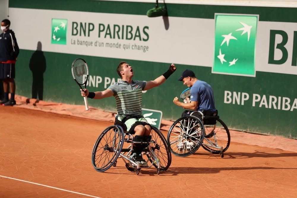 Alfie Hewett, Gordon Reid, Roland-Garros 2020, Double Messieurs Tennis Fauteuil, Finale,