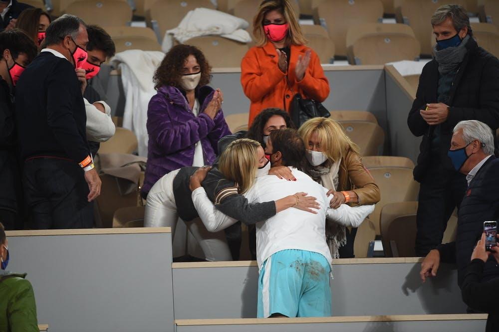 Rafael Nadal, family, Roland Garros 2020, final