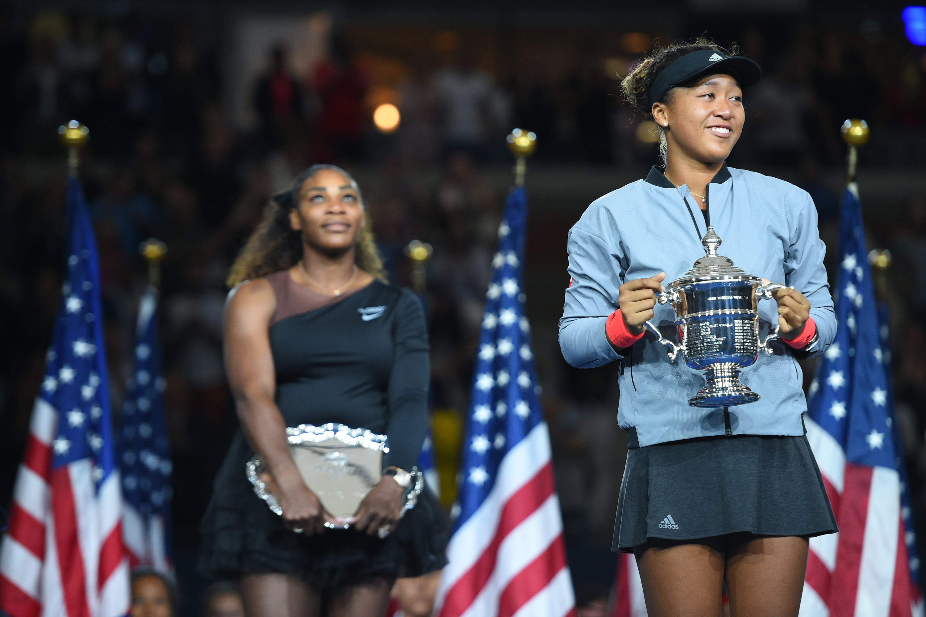 Naomi Osaka wins her maiden Grand Slam title at the 2018 US Open