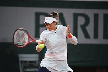 Caroline Garcia, Roland-Garros 2020, first round