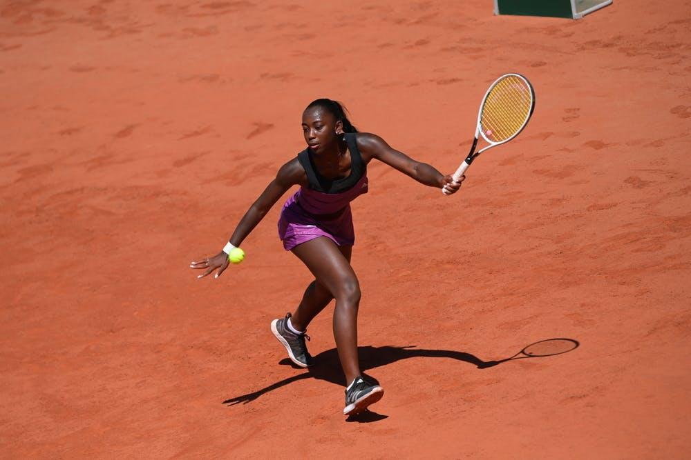 Oceane Babel, Roland Garros 2021, first round
