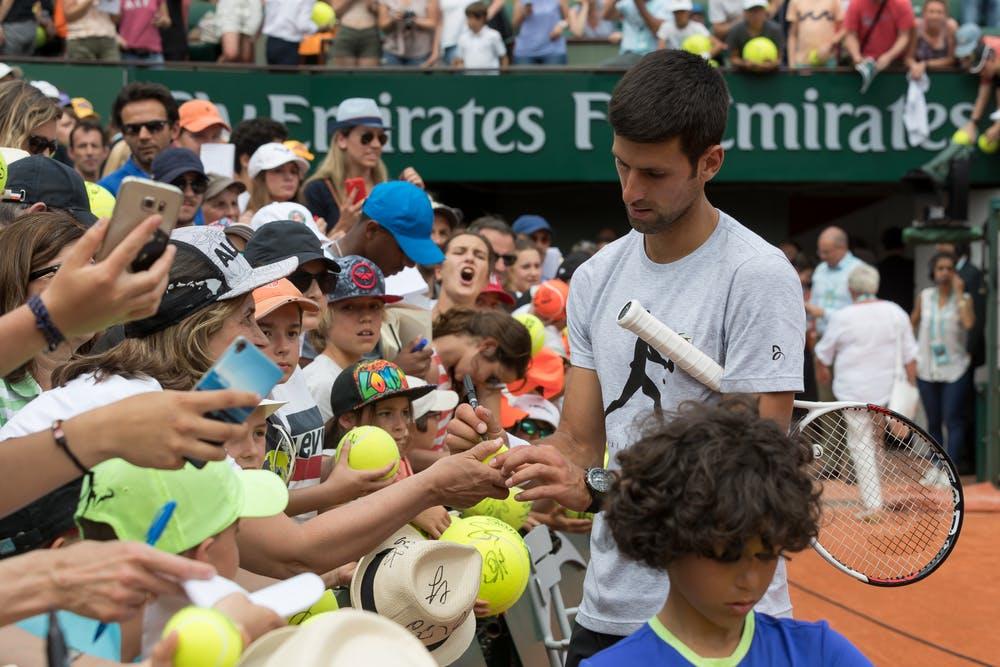 Novak Djokovic Kids' day 2018