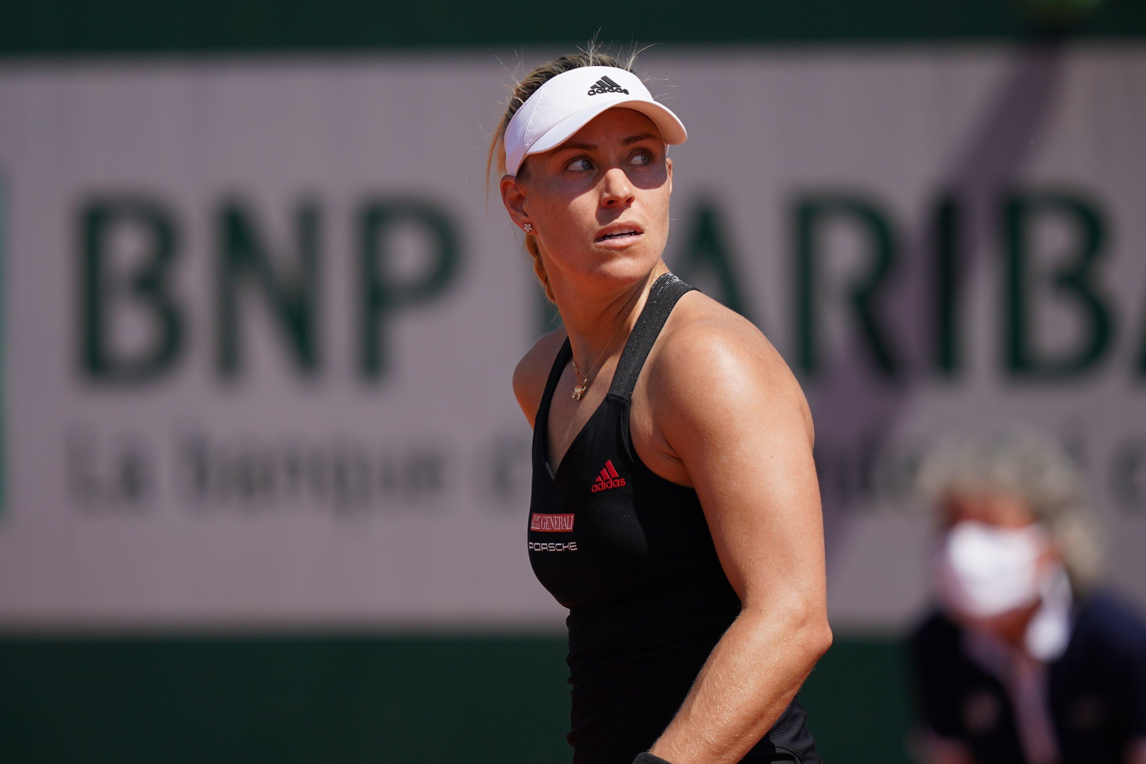 Angelique Kerber Roland-Garros 2021