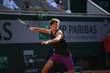 Alexander Zverev, Roland-Garros 2021 quarter-final