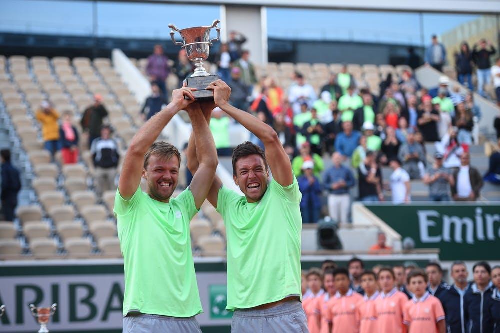 German duo savour doubles fairytale - Roland-Garros - The 2020 ...