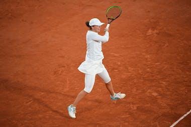 Iga Swiatek, Roland-Garros 2020, huitièmes de finale