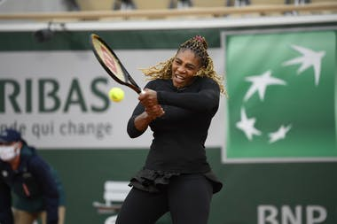 Serena Williams, Roland Garros 2020, first round