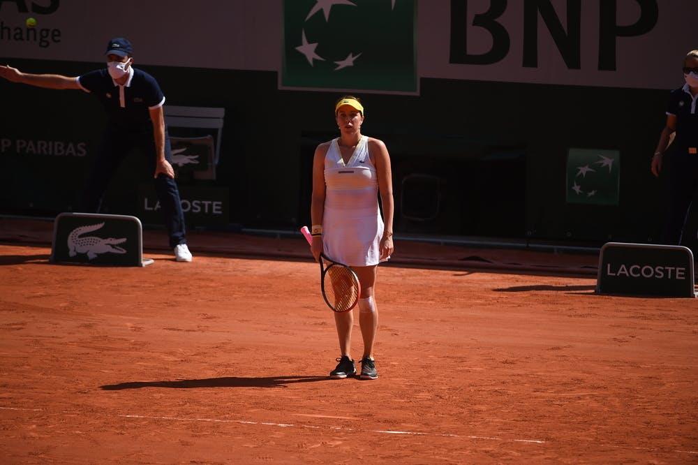 Anastasia Pavlyuchenkova, Roland-Garros 2021, women's semi-final
