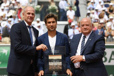 David Ferrer retirement ceremony 2019 roland garros