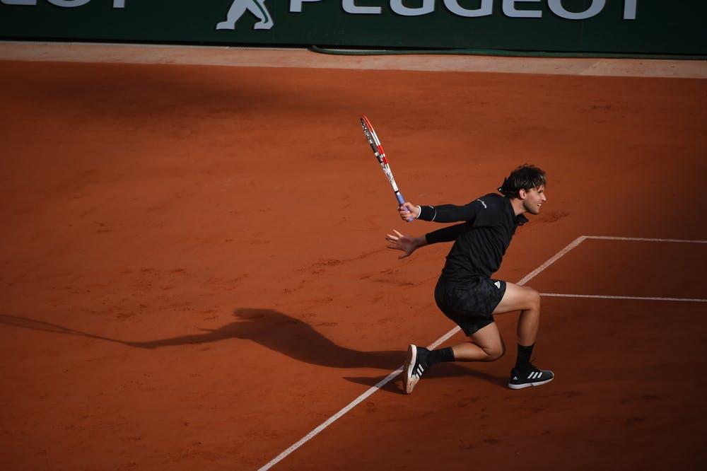 Dominic Thiem, Roland Garros 2020, fourth round