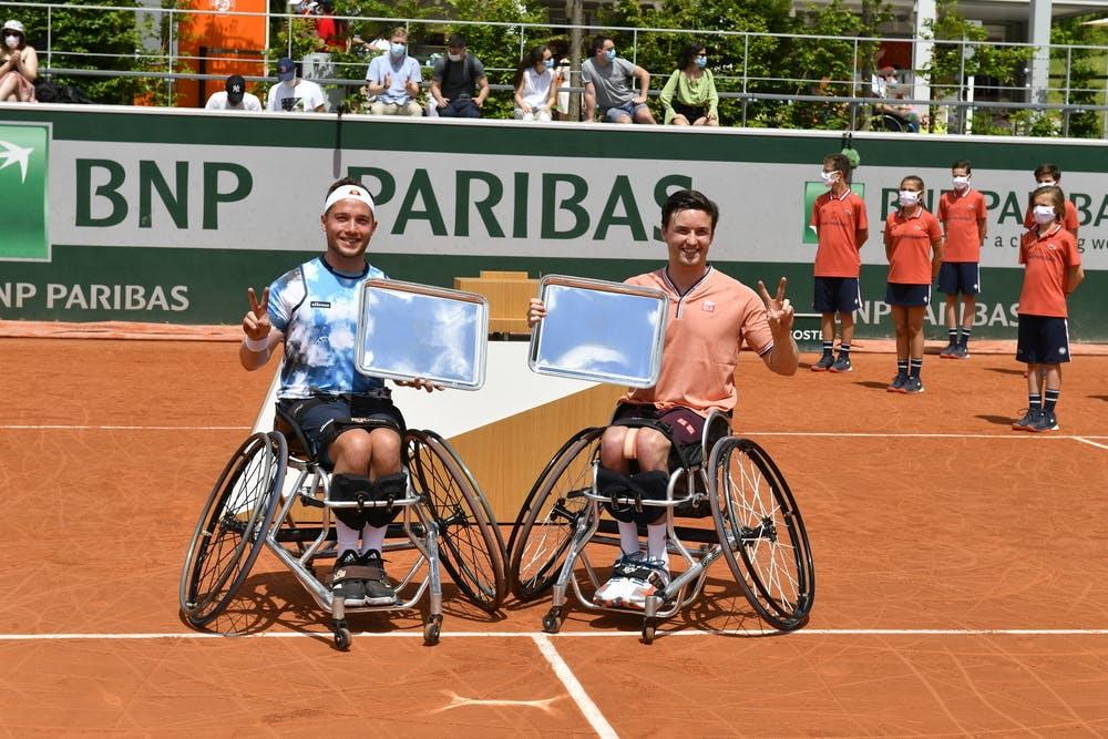 Alfie Hewett, Gordon Reid, wheelchair, Roland-Garros 2021, final