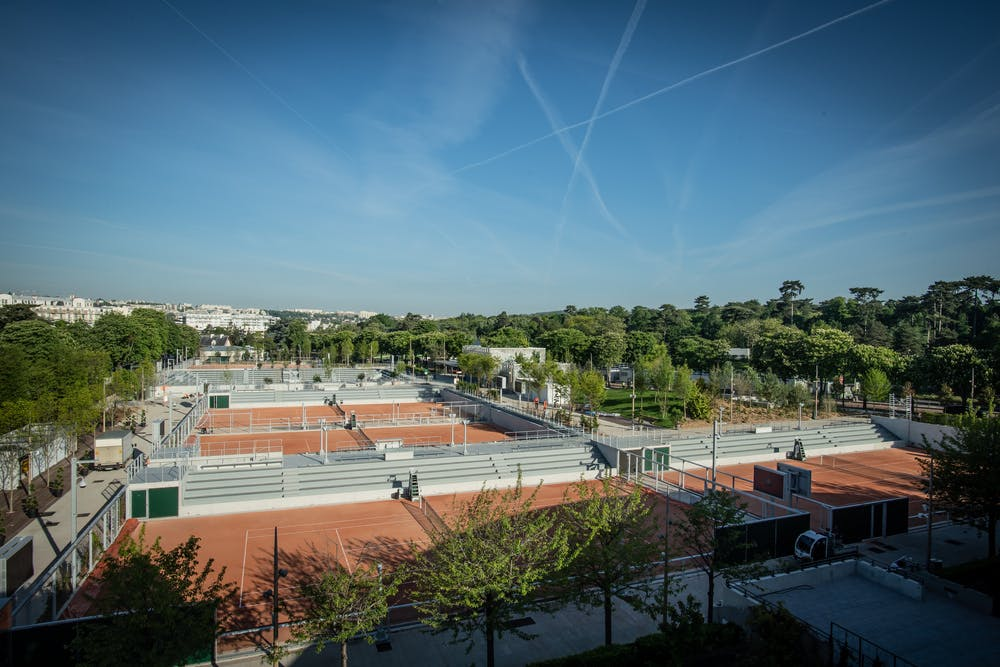 The Fonds des Princes Courts Sping 2019 at Roland-Garros