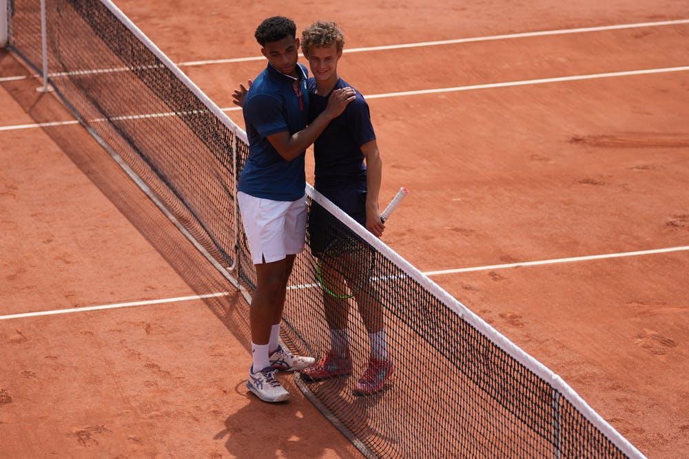 Arthur Fils, Luca Van Assche, Roland-Garros 2021, boys' singles final
