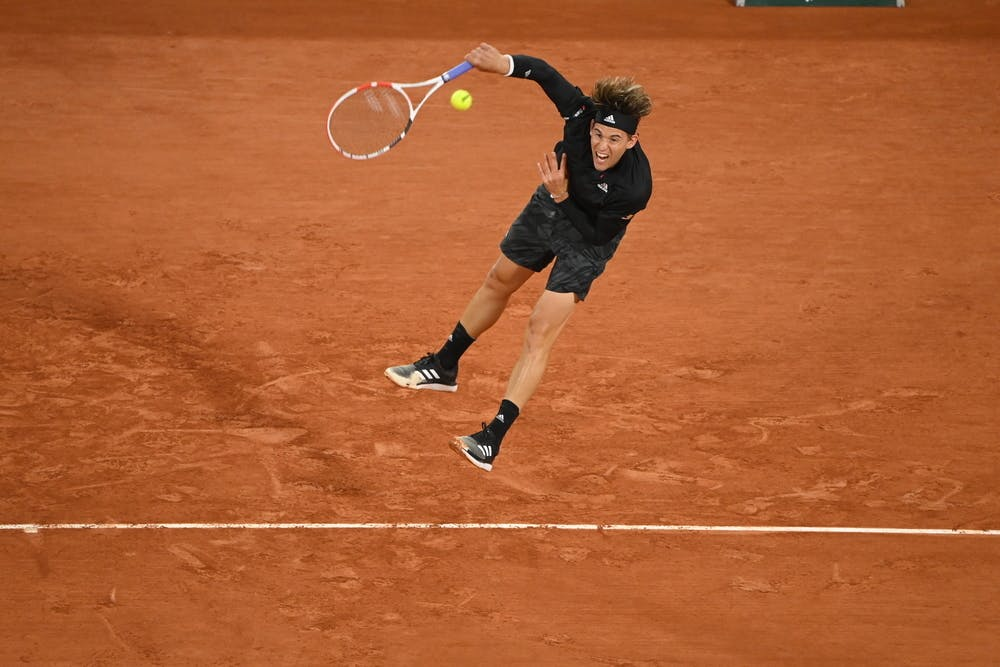 Dominic Thiem, Roland Garros 2020, first round