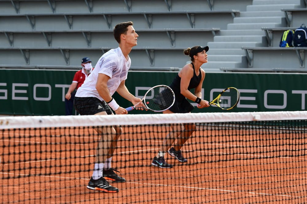 Joe Salisbury, Desirae Krawczyk Roland-Garros 2021, quarter finals