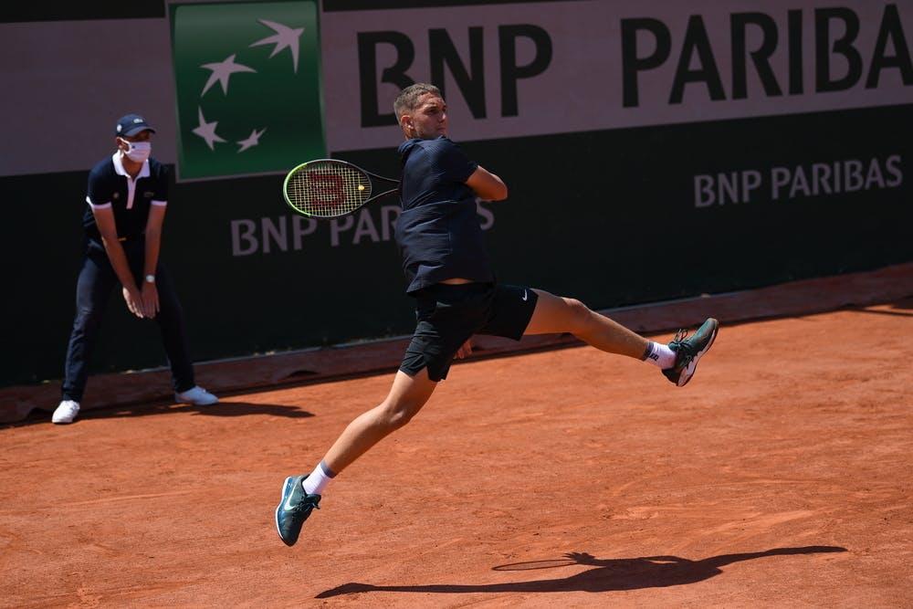 Sean Cuenin, Roland-Garros 2021, boys