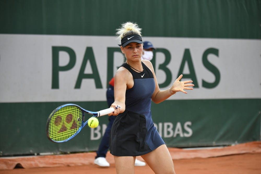 Marta Kostyuk, Roland Garros 2021 second round