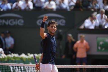 Roland-Garros 2018, demi-finale, semi-final, Dominic Thiem