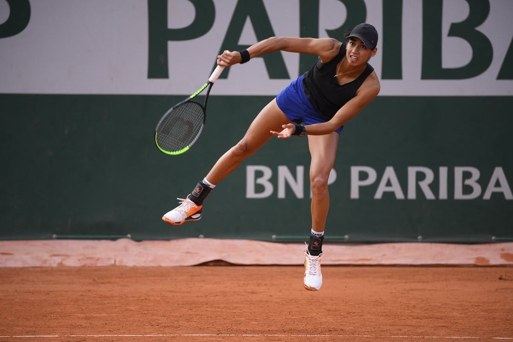 Astra Sharma, Roland-Garros 2020, qualifying first round.