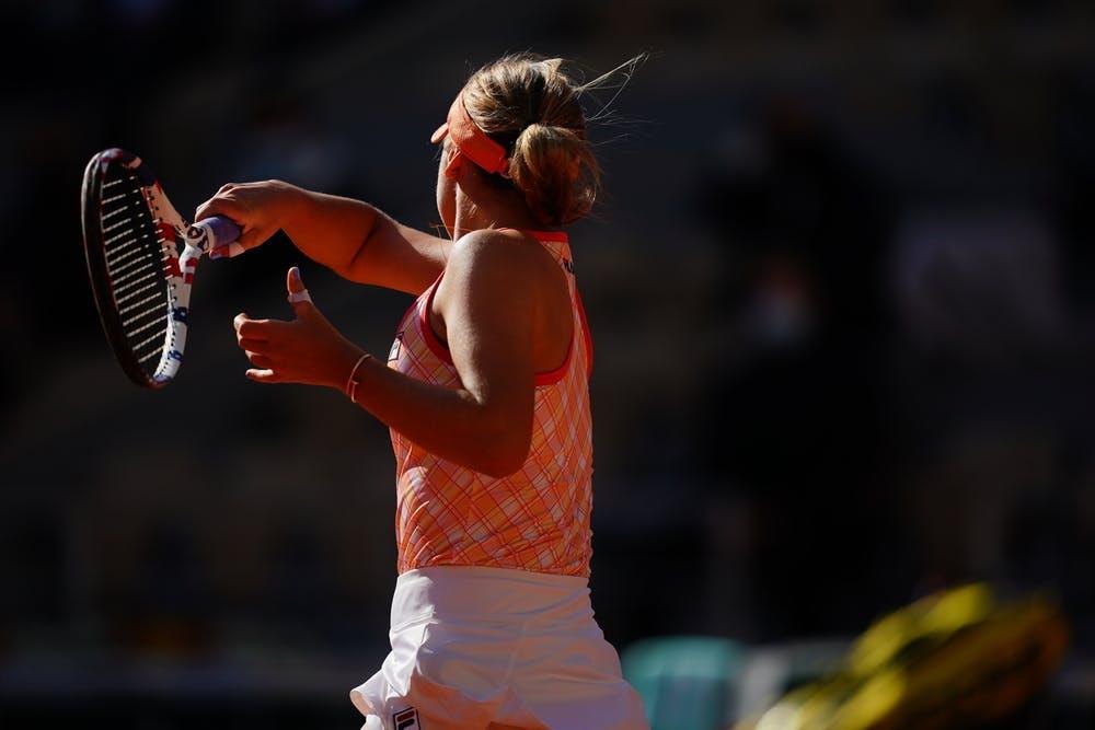 Sofia Kenin, Roland Garros 2020, quarter-finals