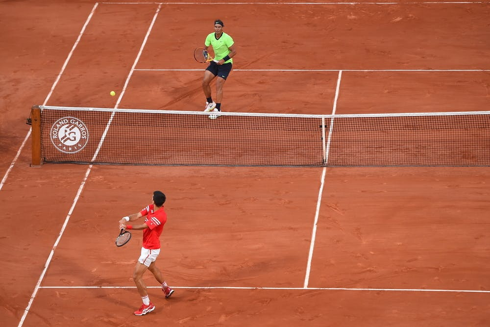 Novak Djokovic Rafael Nadal Roland Garros 2021