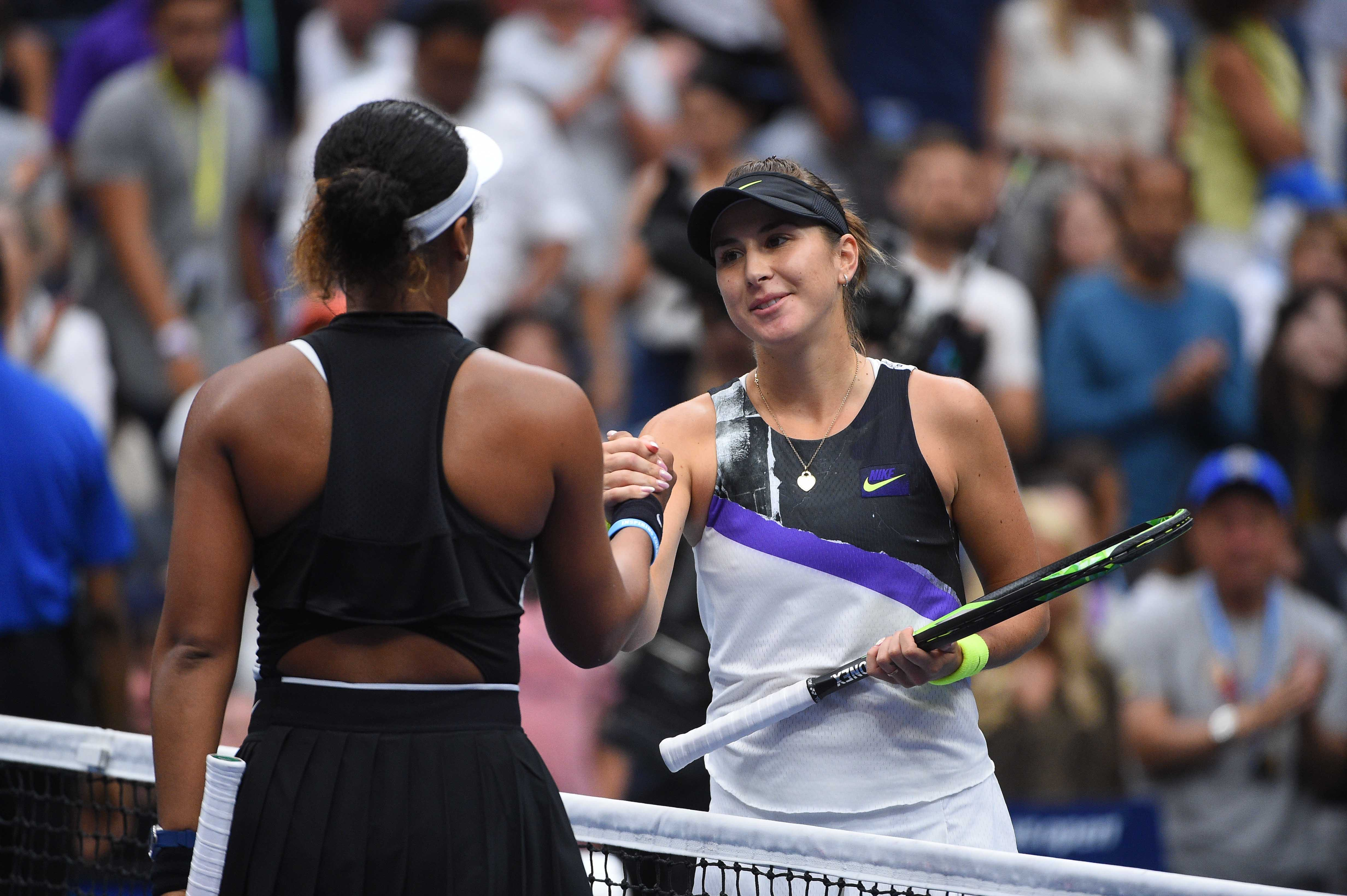 Belinda Bencic defeats Naomi Osaka in the fourth round of the 2019 US Open
