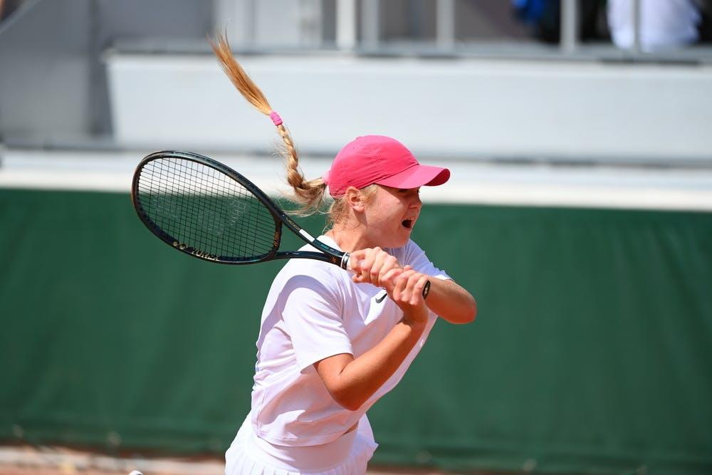 Maria Bondarenko, Roland-Garros 2021, girls singles first round