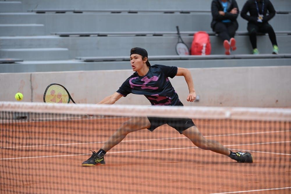 Alex Barrena, Roland Garros 2020, girls' singles, second round