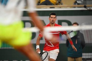 Novak Djokovic, Roland-Garros 2020, huitièmes de finale