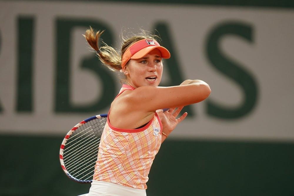 Sofia Kenin, Roland-Garros 2020, 2e tour