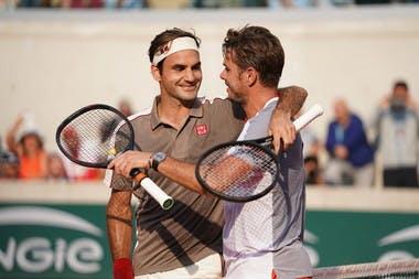 Wawrinka Federer Roland Garros quarter-finals 2019