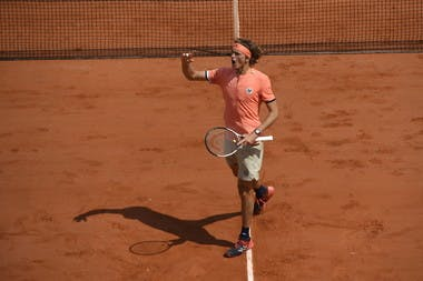 Roland-Garros 2018, Alexander Zverev, 8e de finale