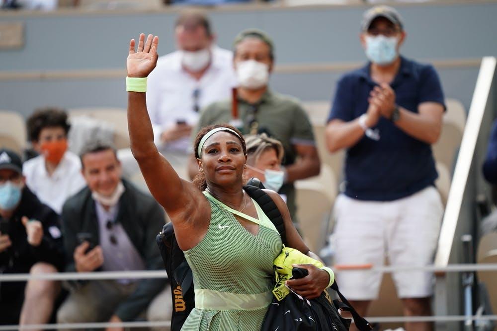 Serena Williams, Roland Garros 2021, fourth round