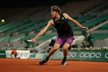 Alexander Zverev, Roland-Garros 2021, fourth round