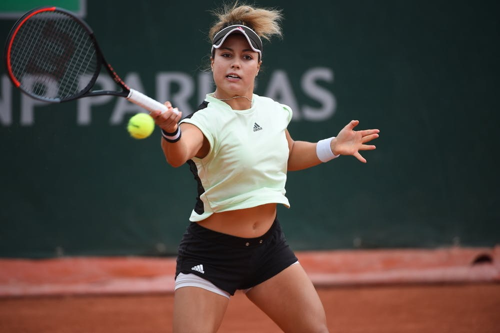 Renata Zarazua, Roland Garros 2020, first round