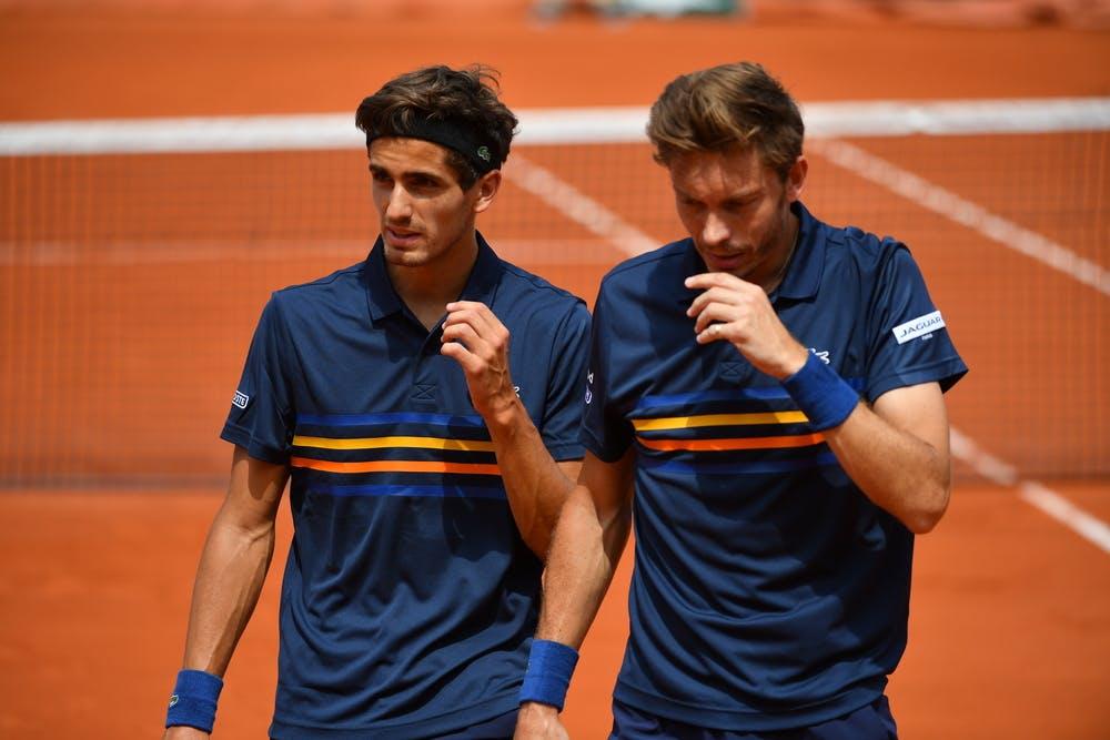 Pierre-Hugues Herbert et Nicolas Mahut, Roland-Garros 2018