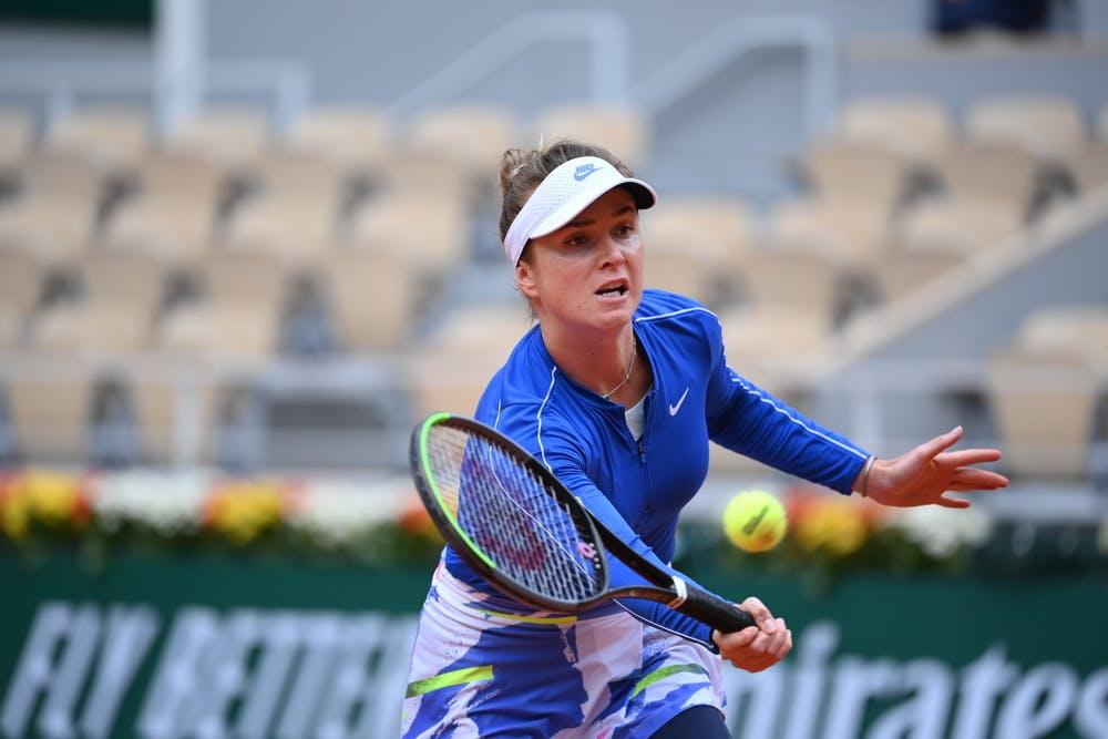 Elina Svitolina, Roland-Garros 2020, quarts de finale