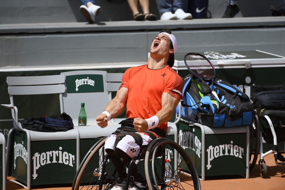 Gustavo Fernandez vainqueur tennis fauteuil Roland-Garros 2019